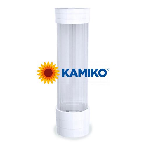 Plastový zásobník pohárov Ø 70 mm biely