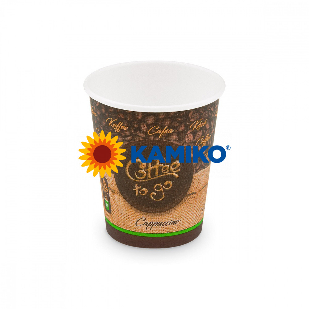 Papierový pohár ,,Coffee to go,, 280 ml, M, Ø 80 mm, 50 ks