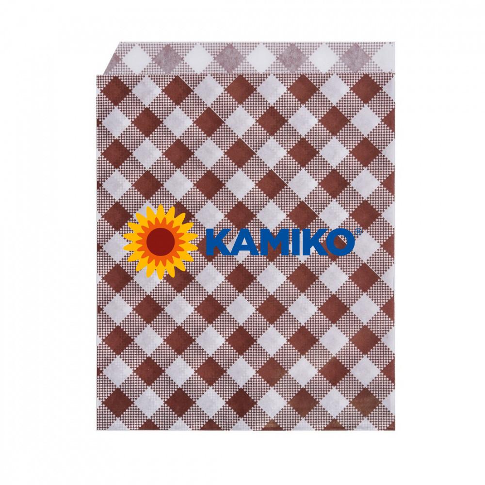 Papierové vrecko KARO 14 x 19 cm, 500 ks