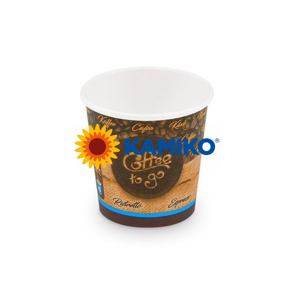 Papierový pohár s potlačou 110 ml