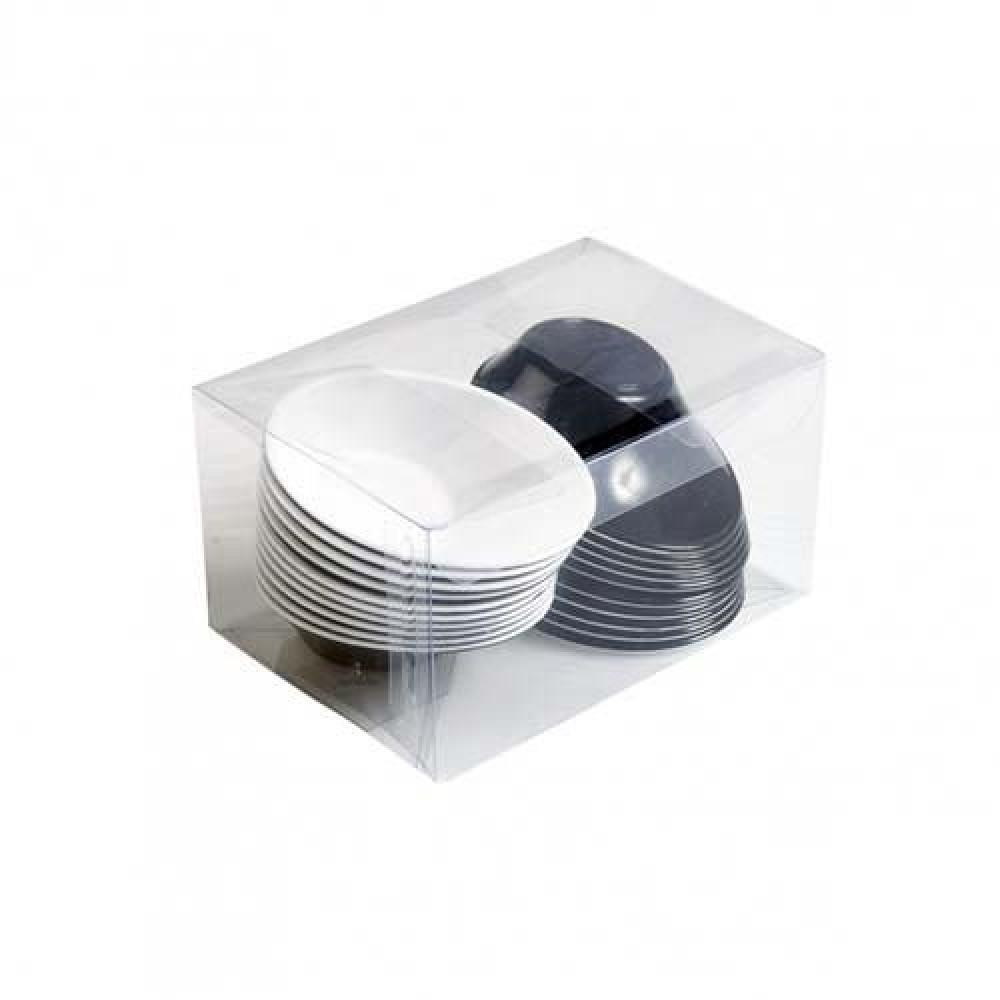 Plastová Finger Food mini miska SODO 50 ml, bicolor