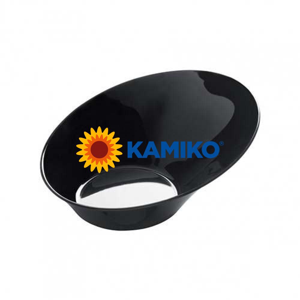 Plastová Finger Food mini miska SODO 50 ml, čierna