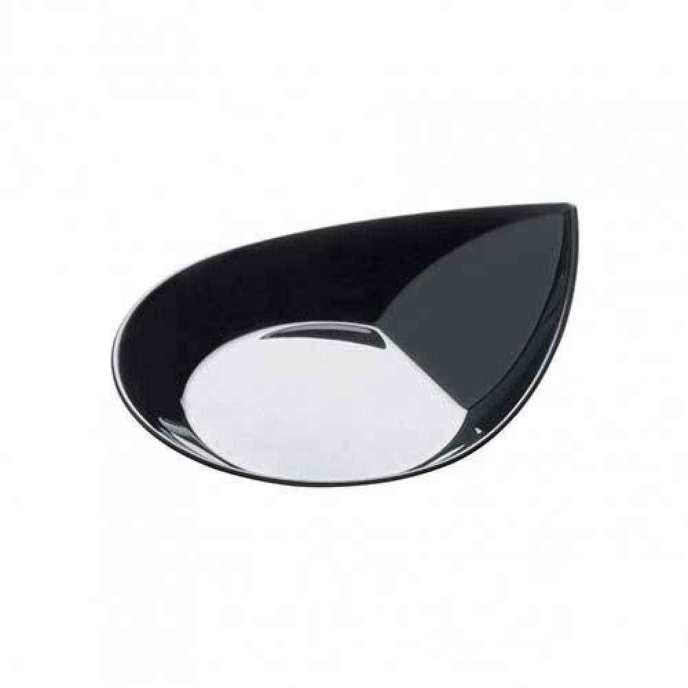 Plastová Finger Food mini miska SMART 40ml, čierna
