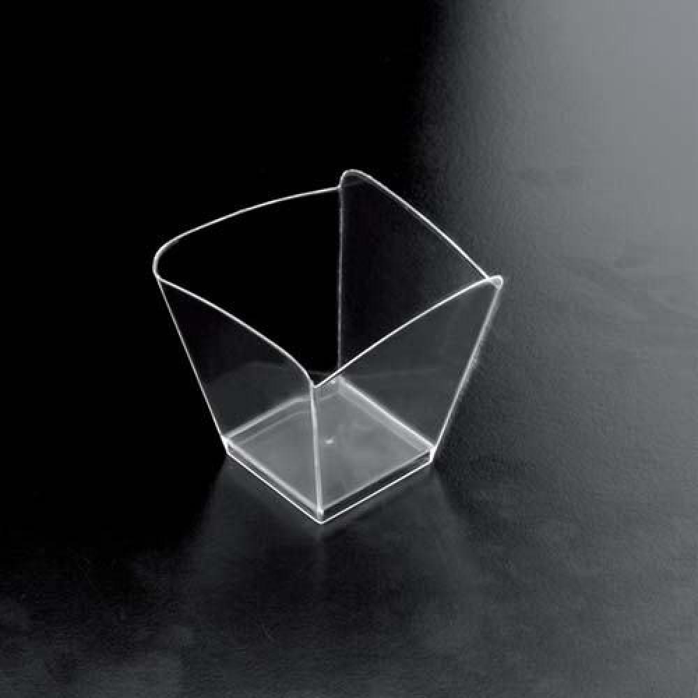 Plastová Finger Food miska ONDA 100ml, číra