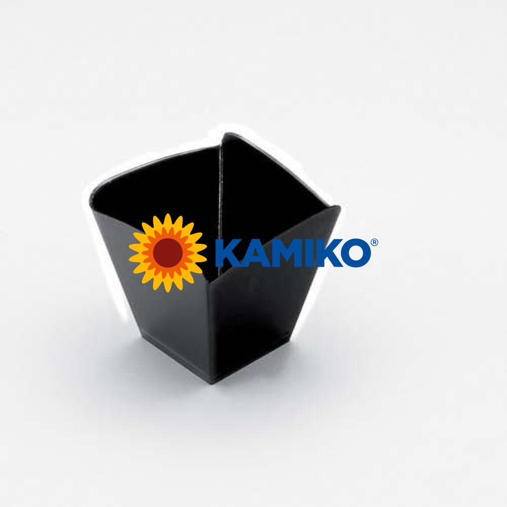 Plastová Finger Food miska ONDA 100ml, čierna