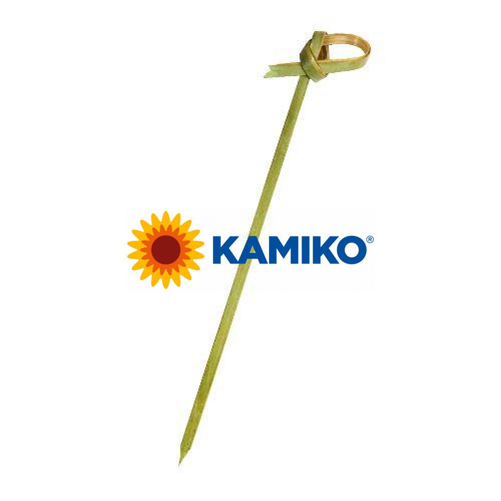 Napichovadla bambusové na jednohubky uzlík, 10cm