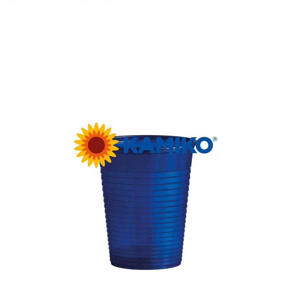 Pohár modrý 0,18 l PS Ø 70 mm, 50 ks