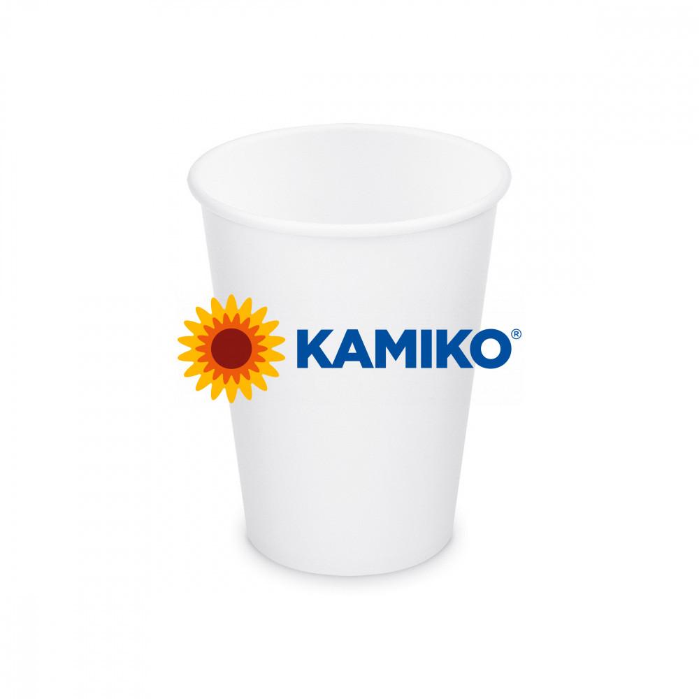 Papierový pohár biely, 420 ml, L, Ø 90 mm, 50 ks