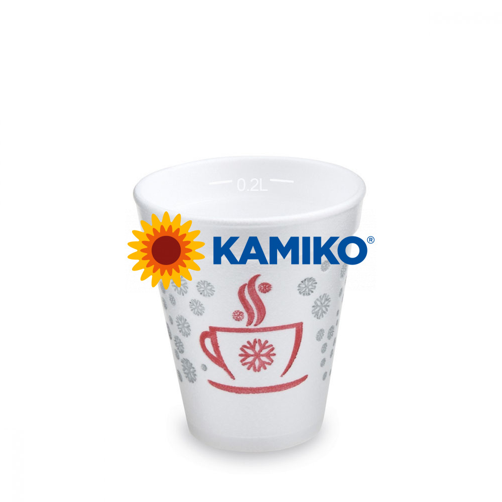 """Termo-pohár """"Zimné obdobie,, 0,2 l Ø 80 mm, 25 ks"""