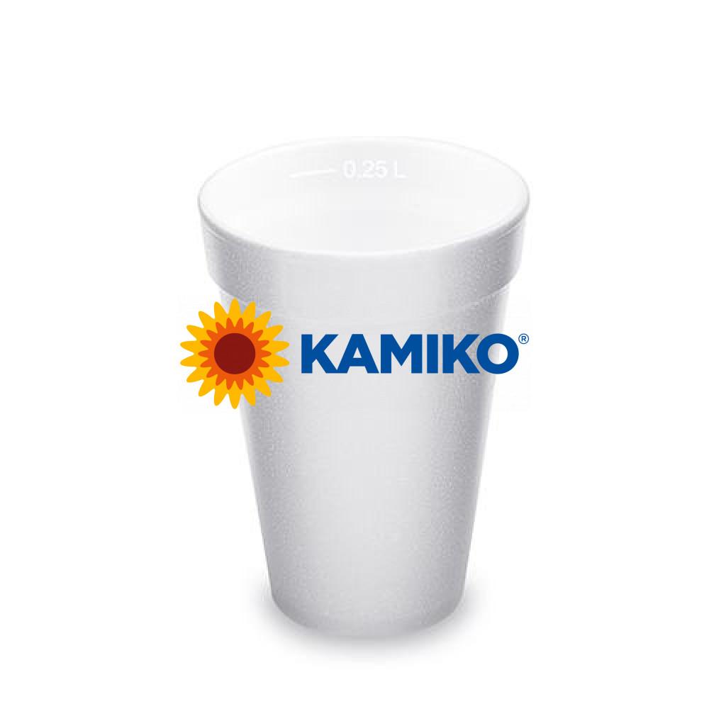 Termo-pohár biely 250 ml