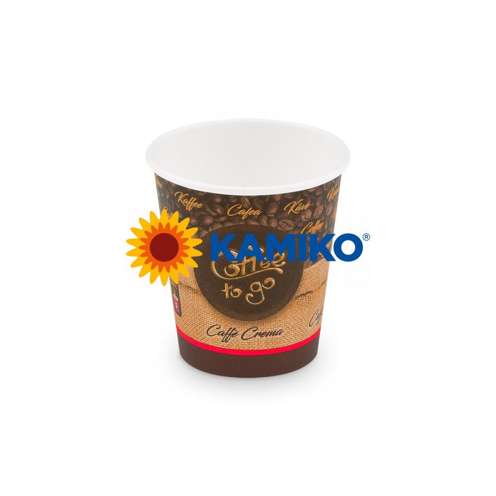 Papierový pohár ,,Coffee to go,, 200 ml, S, Ø 73 mm, 50 ks