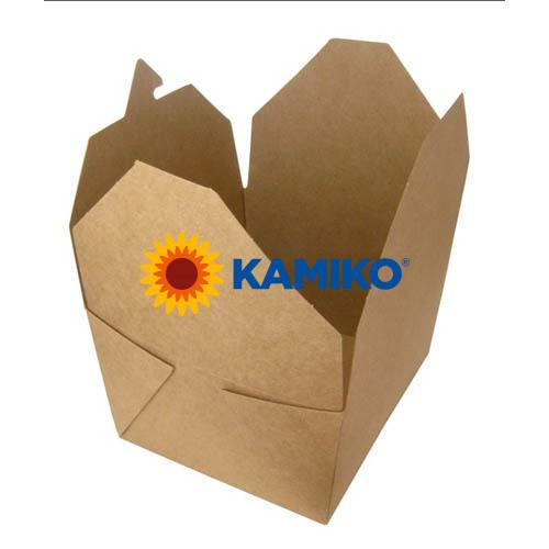 Kraft box na jedlo 700 ml, 50 ks/balenie