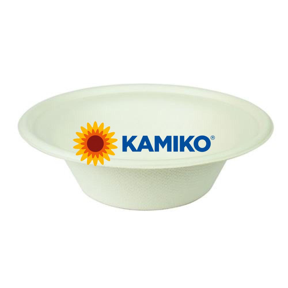 Miska okrúhla BIO cukrová trstina 300 ml, Ø 15 x 4,5 cm, 50 ks/balenie