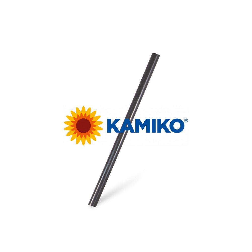 Slamky koktejlové JUMBO čierne BIO Ø 8 mm x 15 cm, 250 ks