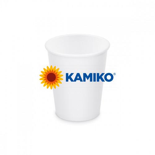 Papierový pohár biely, 110 ml, XS, Ø 62 mm, 50 ks