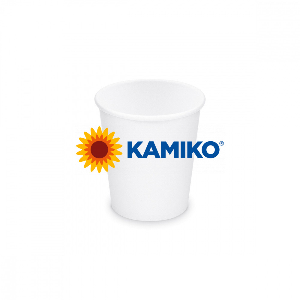 Papierový pohár biely, 200 ml, S, Ø 73 mm, 50 ks