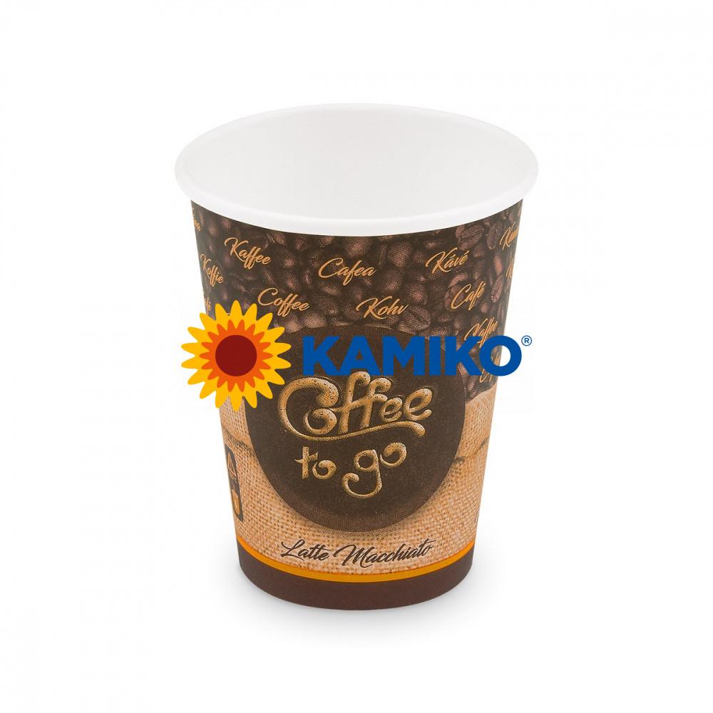 Papierový pohár ,,Coffee to go,, 420 ml, L, Ø 90 mm, 50 ks