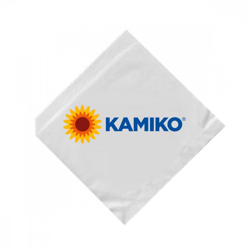 Papierové vrecká (hamburger/kebap) biele 16 x 16 cm, 500 ks