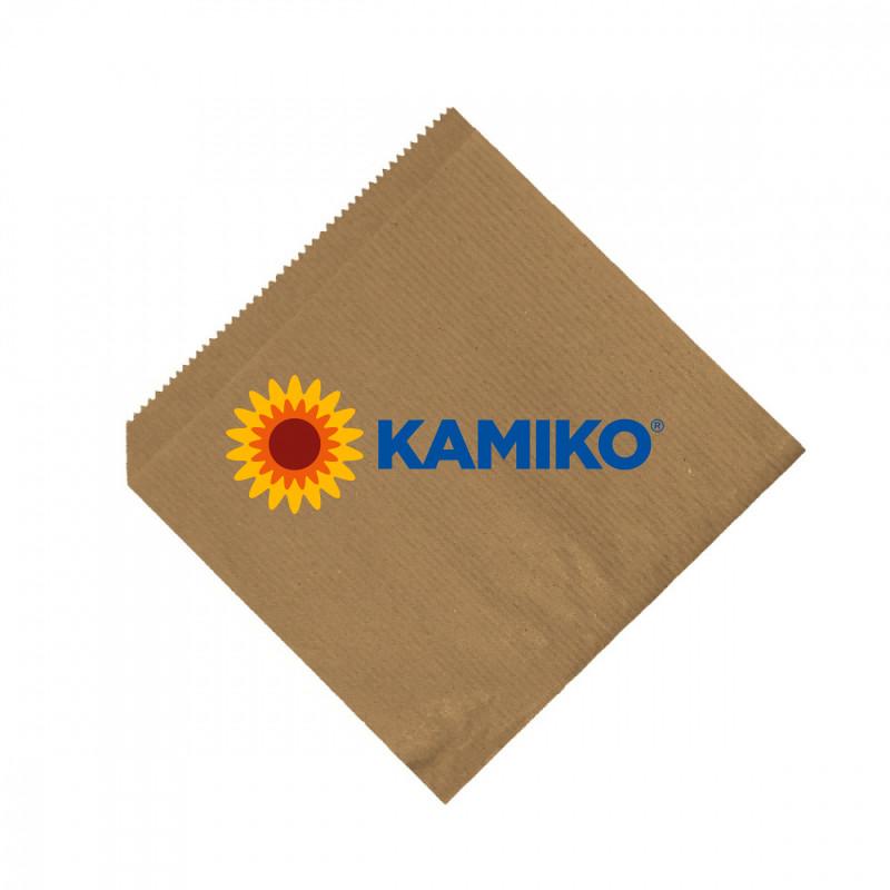 Papierové vrecká (hamburger/kebap) hnedé 16 x 16 cm, 500 ks