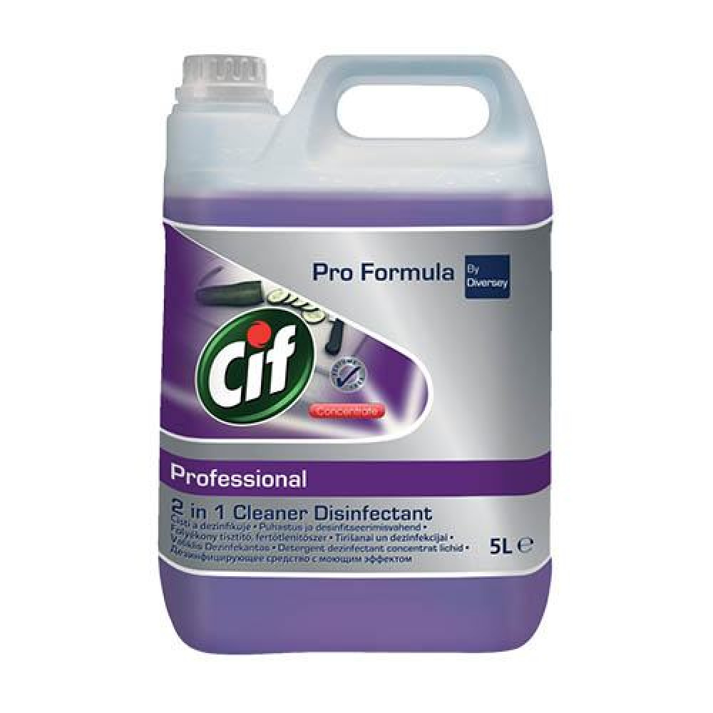 CIF PROFESSIONAL CLEANER 2v1 5000ml dezinfekčný