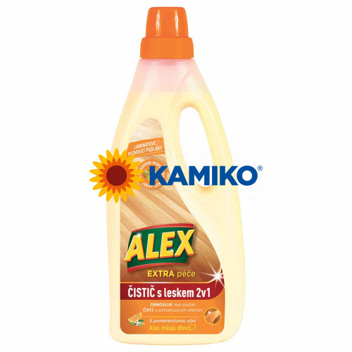 ALEX Čistič s leskom 2 v 1 na laminátové podlahy 750 ml