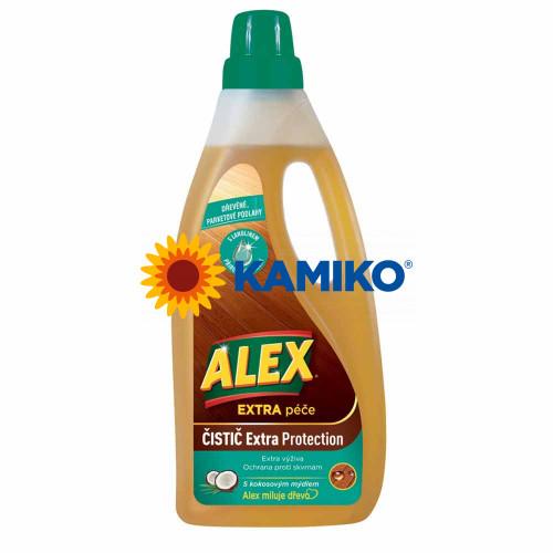 ALEX Mydlový čistič na drevené podlahy 750 ml