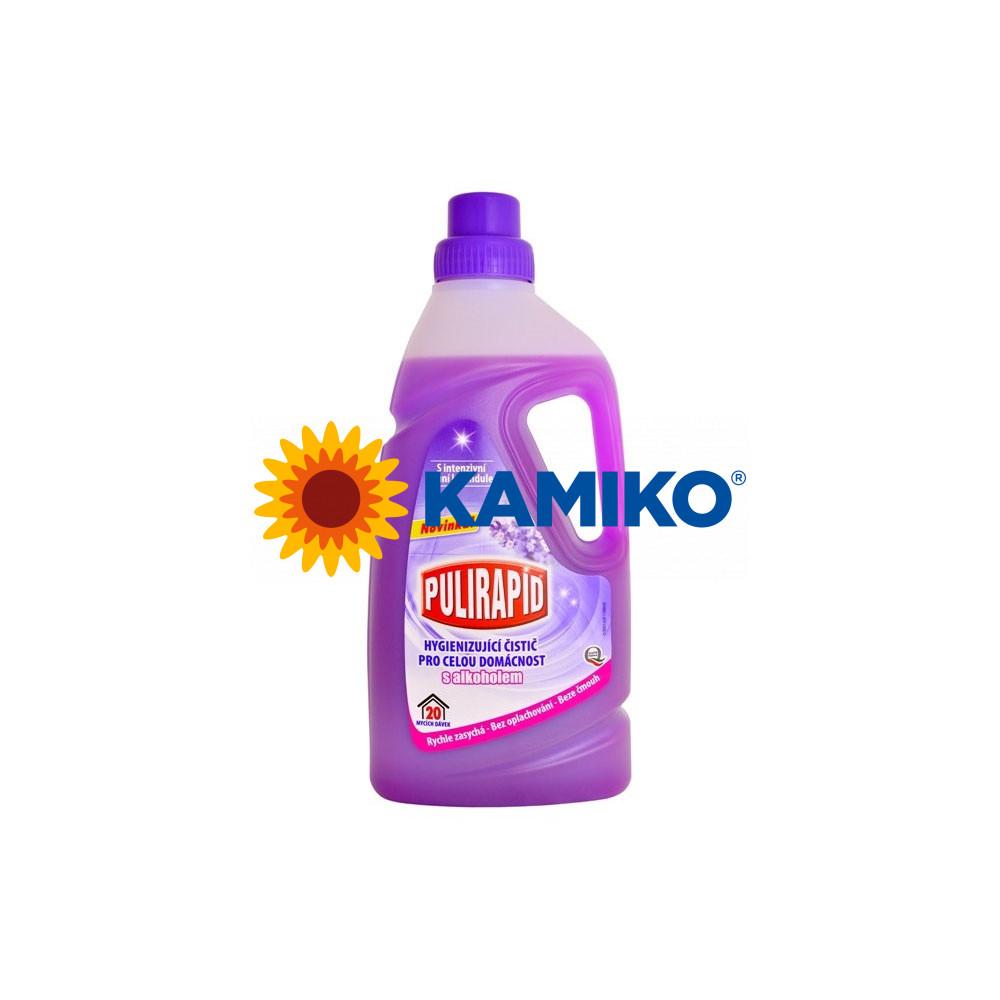 Pulirapid Lavanda hygienizujúci čistič pre celú domácnosť s alkoholom 1 l