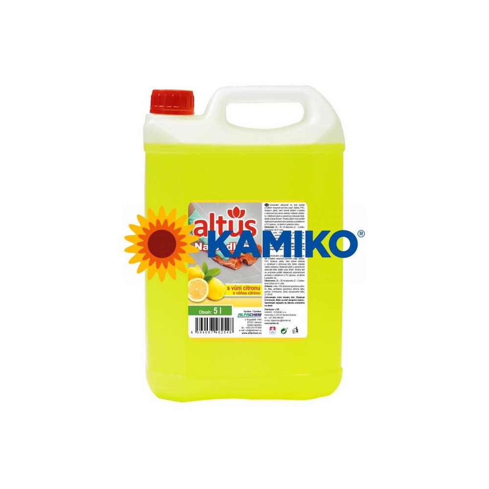 ALTUS na podlahy s vôňou citrónu 5 l