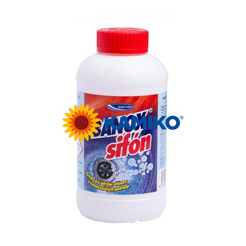 BANOX SIFON 500g granule na odpady