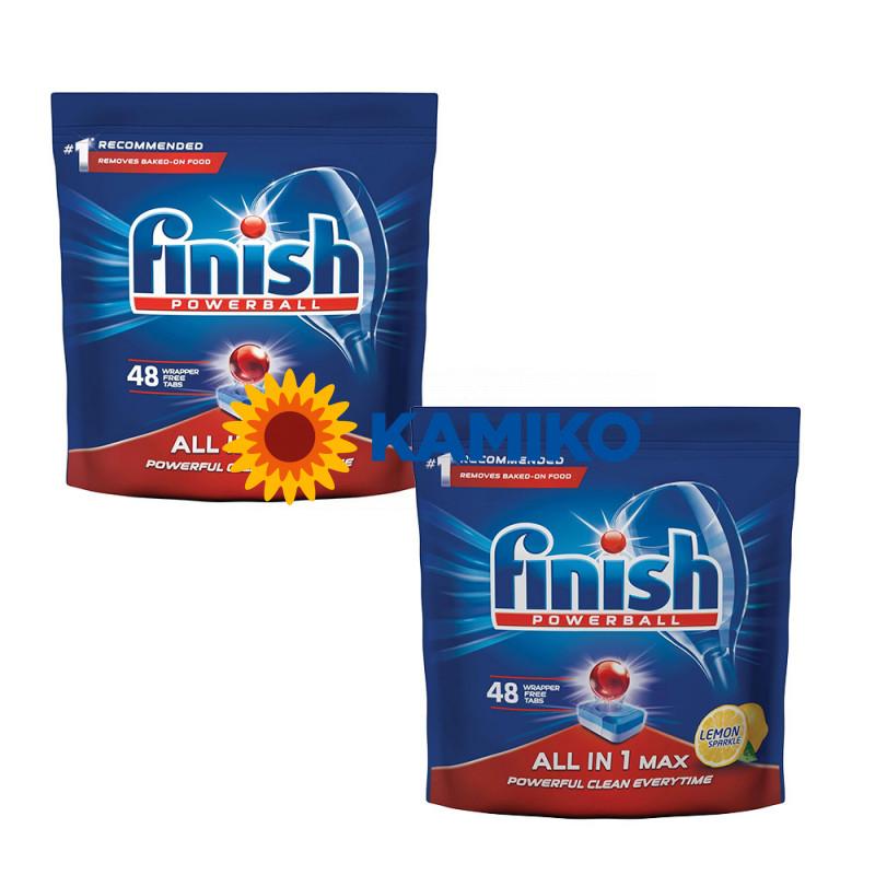 Finish Powerball All in 1 tablety do umývačky riadu 48 ks