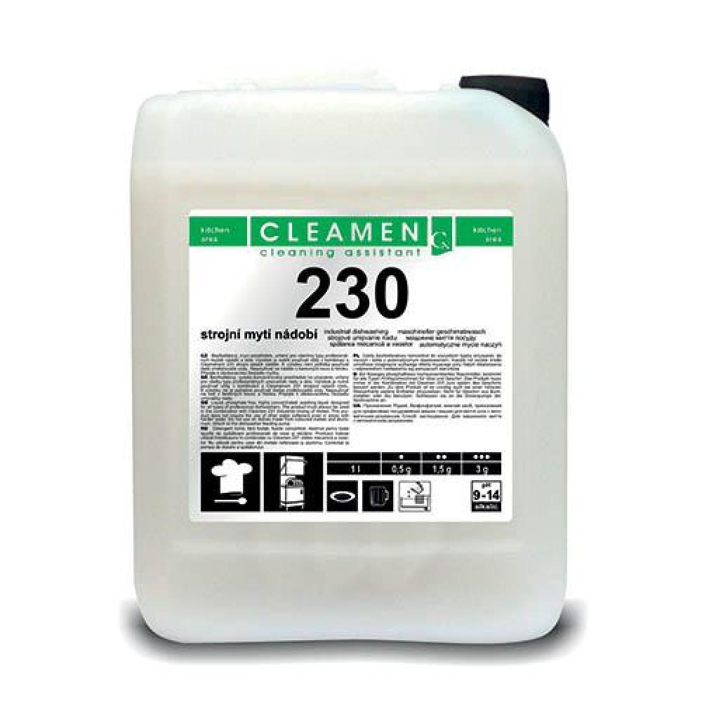 CLEAMEN 230, 6 kg, profesionálny umývací prostriedok do umývačky