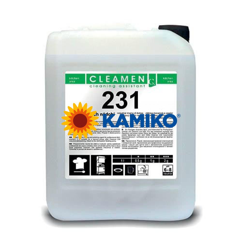 CLEAMEN 231, 5L, profesionálny oplach do umývačky
