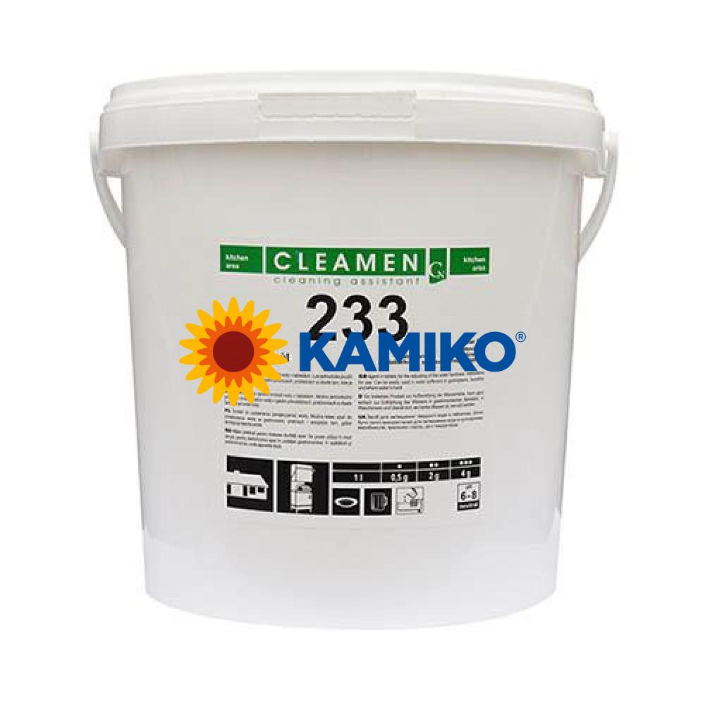 Tabletová soľ do umývačiek riadu CLEAMEN 233 10kg