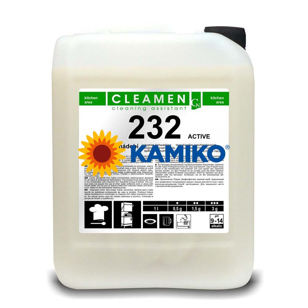 Cleamen 232 strojné umývanie riadu ACTIVE, 6 kg