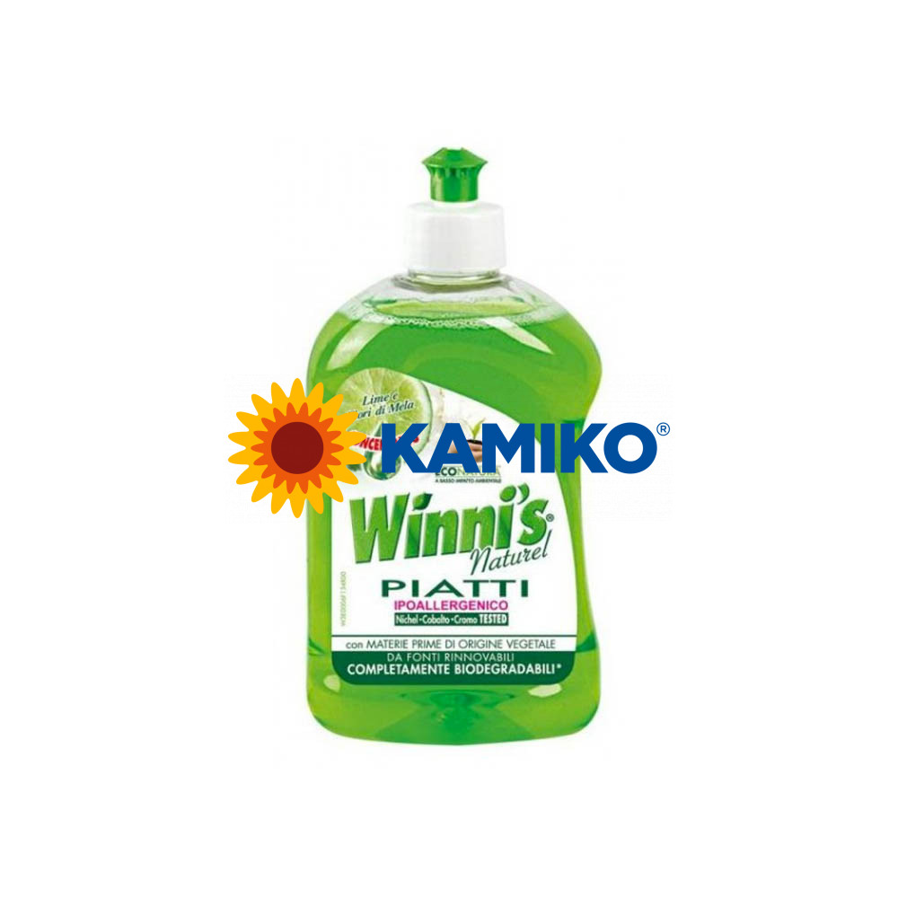 WINNI´S PIATTI lime 500 ml, ekologický prípravok na umývanie riadu
