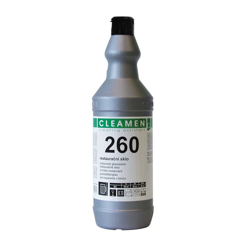 CLEAMEN 260, 1L, prostriedok na umývanie reštauračného skla