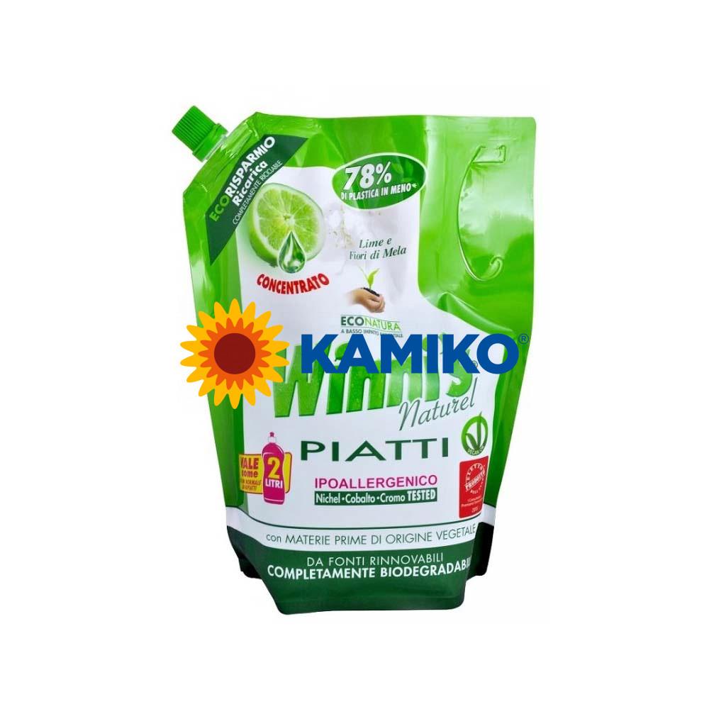 WINNI´S PIATTI lime 1000 ml, ekologický prípravok na umývanie riadu