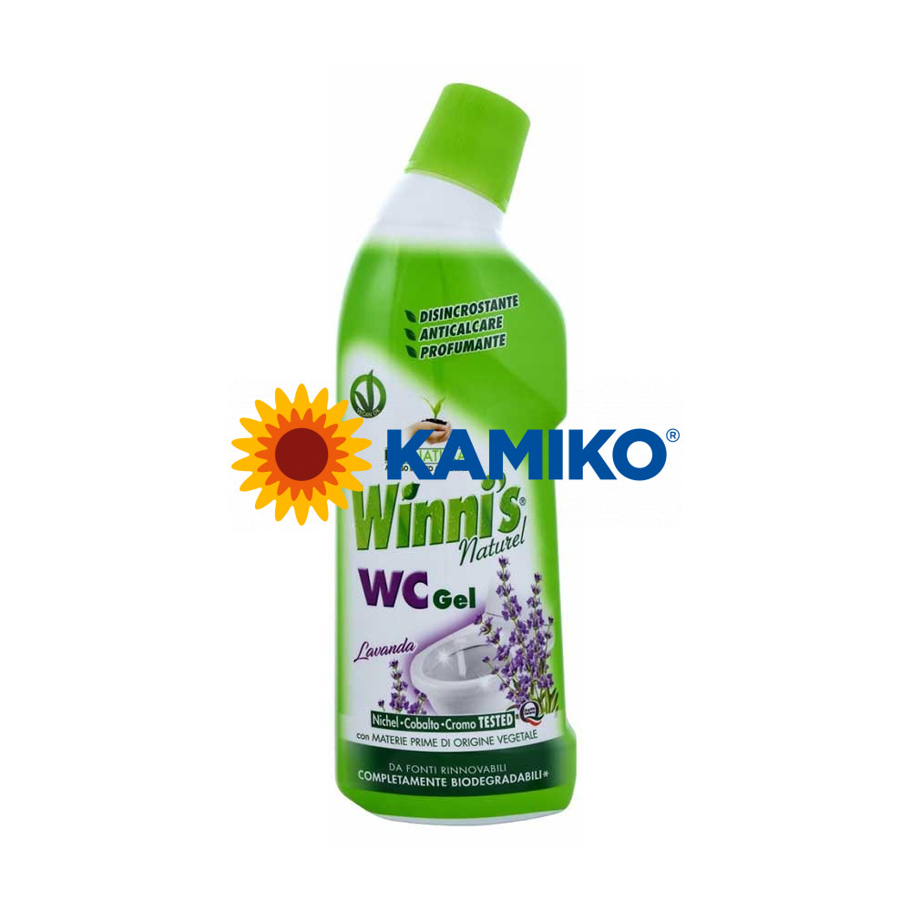 WINNI´S  WC gél 750 ml, ekologický prípravok na sanitu