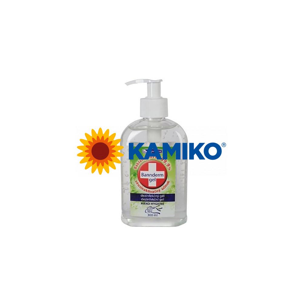 Bannderm gélový prípravok na dezinfekciu rúk 300 ml