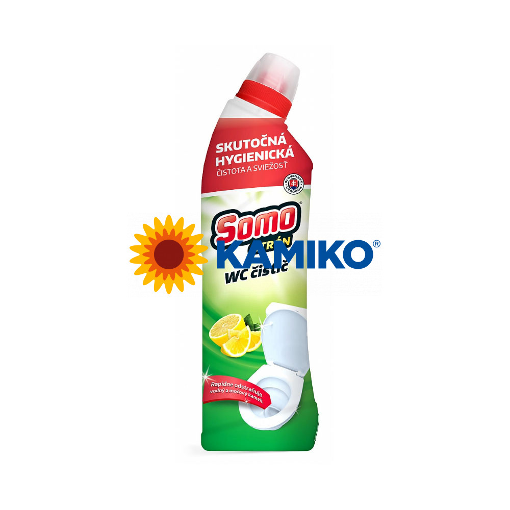 SOMO WC čistič citrón 750 ml