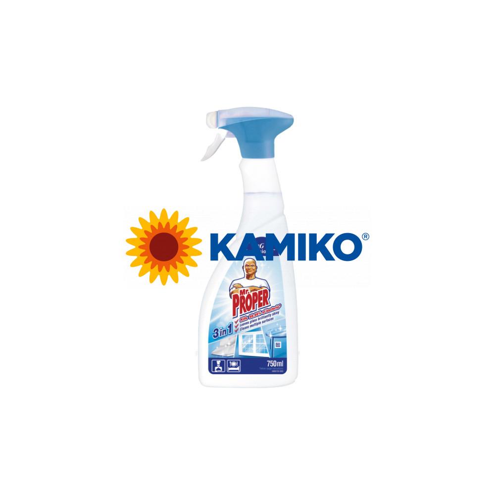 Mr. Proper 3 v 1 univerzálny dezinfekčný čistič 750 ml, rozprašovač