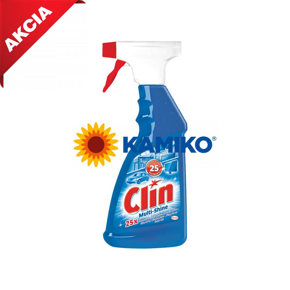 CLIN čistič okien Multi-Shine - rozprašovač 500 ml