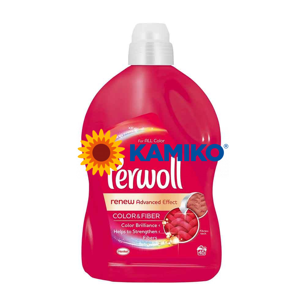 Gél na pranie Perwoll Color & Fiber,  2,7 l