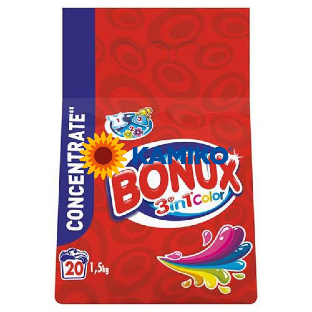 Prášok na pranie BONUX 1,4kg na farebnú bielizeň