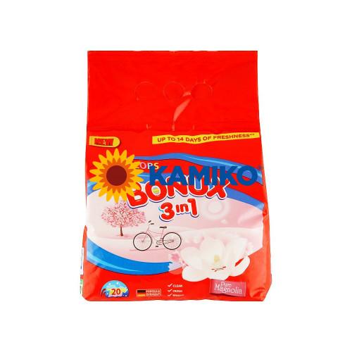 Prášok na pranie BONUX 3v1 Pure Magnólia 1,5 kg/20 PD na farebnú bielizeň