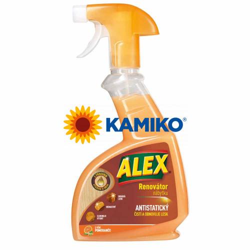 ALEX Renovátor nábytku antistatický proti prachu 375 ml