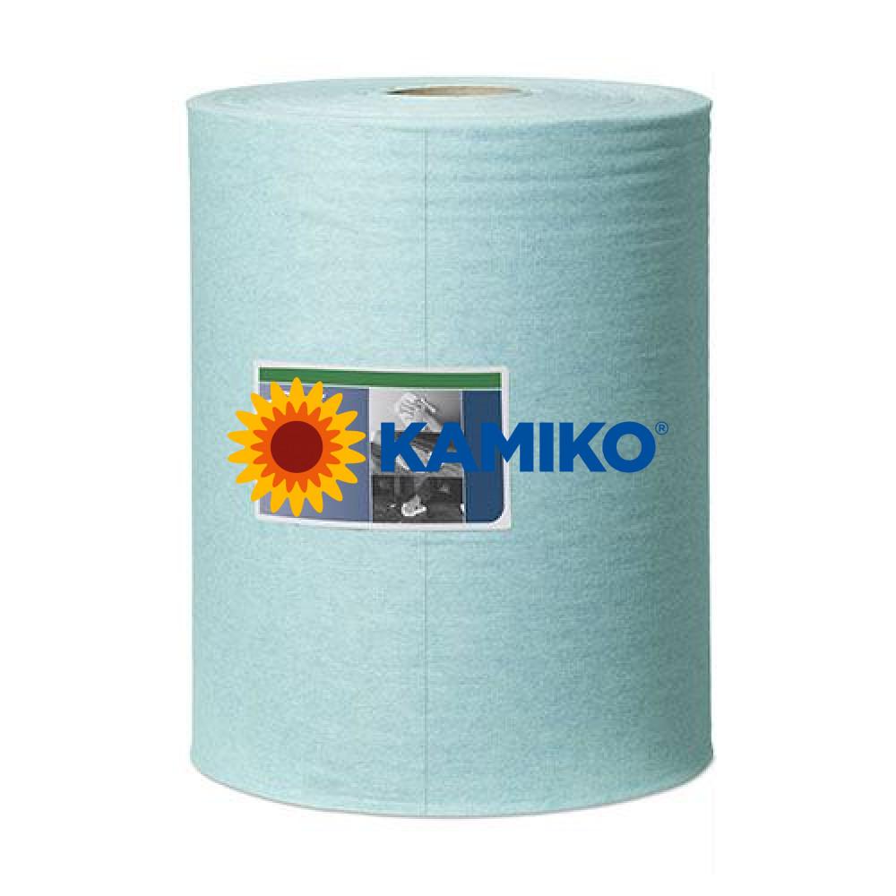 Netkaná textília TORK LOW-LINT CLEANING  500 v boxe, tyrkysová