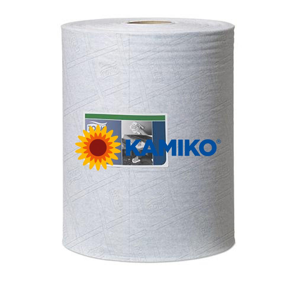 Netkaná textília TORK CLEANING CLOTH v boxe 400, modrá