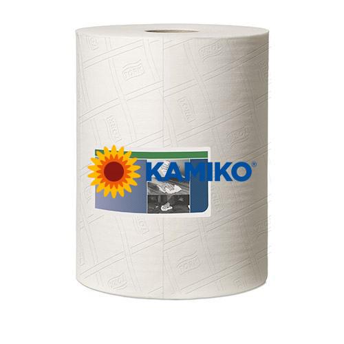 Netkaná textília TORK CLEANING CLOTH v boxe 400, biela