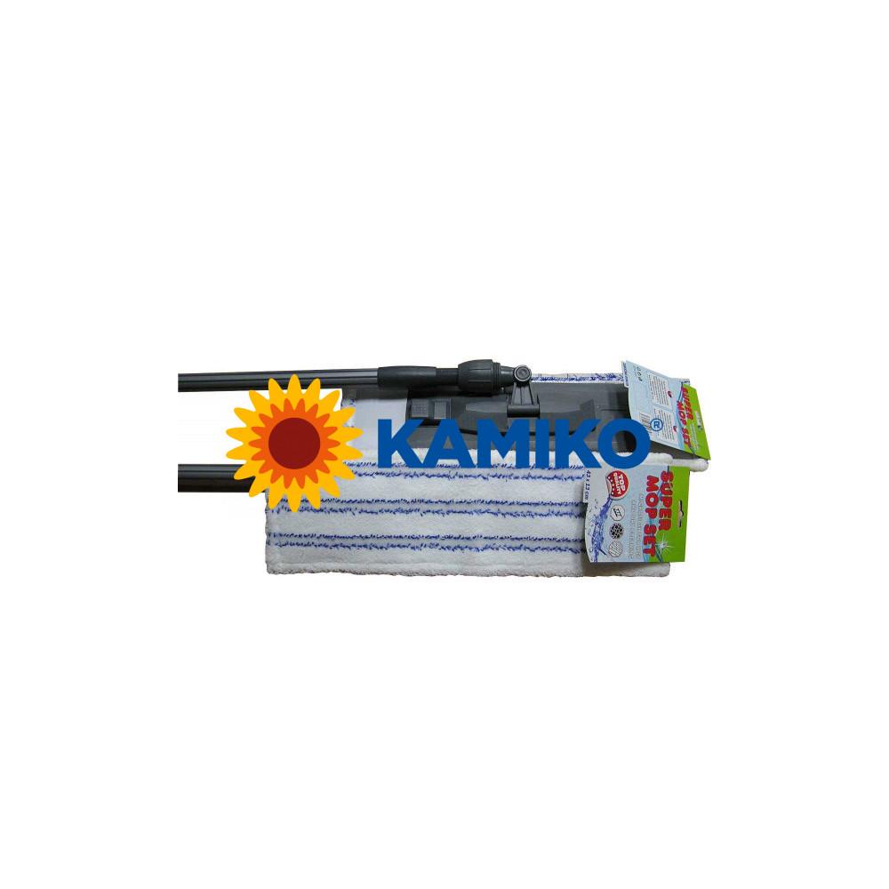 Mop DELUX komplet s mopom SUPER a tyčou 140 cm